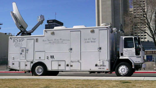 Reno Video Satellite and Production Truck